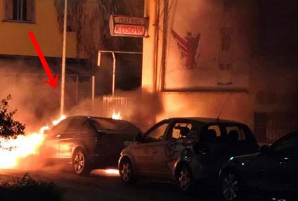 2 burned cars in Elbasan, author is identified