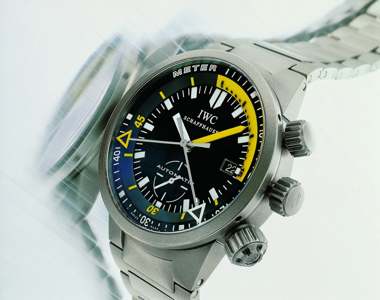 IWC Schaffhausen GST Deep One Diving Watch (1999)