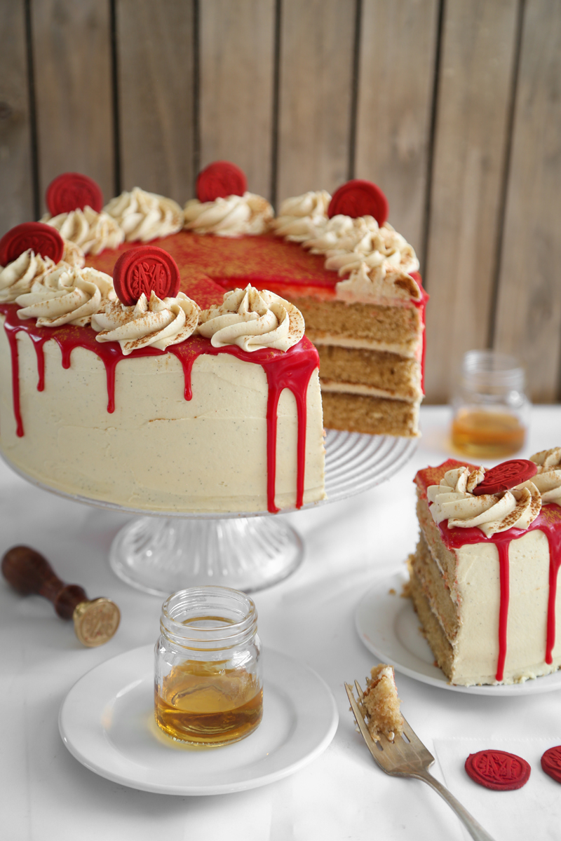 Amaretto Wedding Cake Recipe