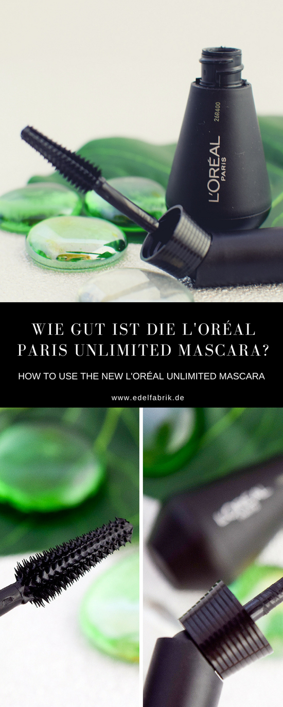 Wie gut ist die neue Unlimited Mascara von L'Oréal Paris