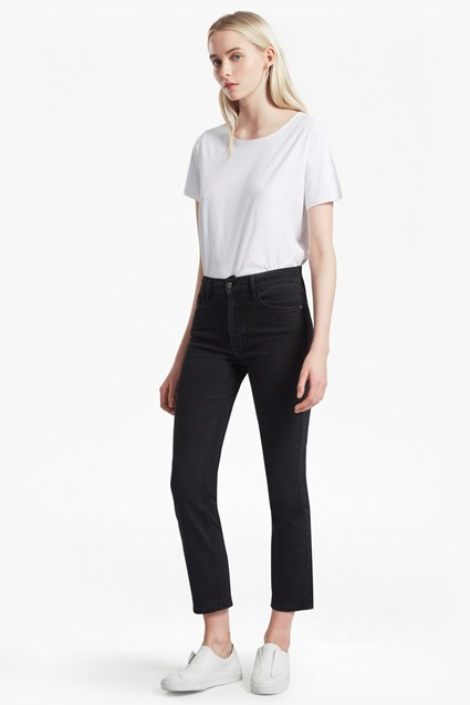French Connection rebound cropped kickflare jeans