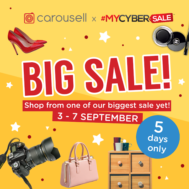 #MYCYBERSALE SHOPPING  SPREE ON CAROUSELL