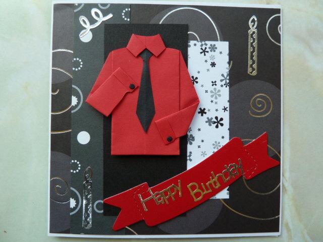 Handmade Birthday Cards Men Let Celebrate