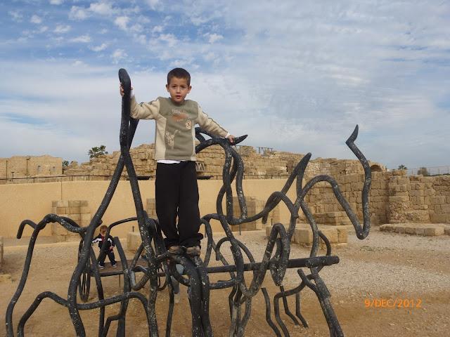 פסל סביבתי קיסריה