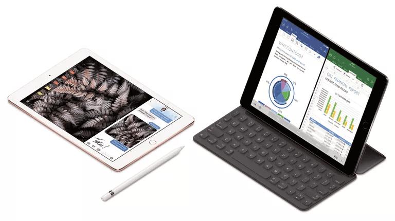IPad Pro dengan smart keyboard dan Apple Pencil