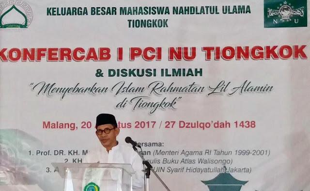 Alhamdulillah, NU Cabang Tiongkok Segera Dibentuk, Islam Nusantara akan Bergema Disana