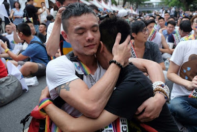 Taiwan's top court ruled government must recognise same-sex unions within two years