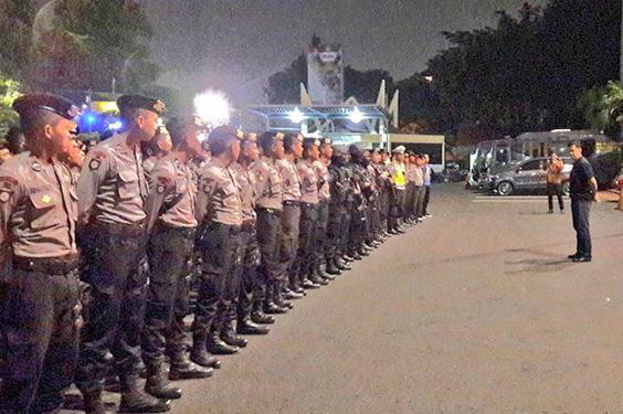 Polisi Menggelar Operasi Cipta Kondisi Untuk Mengantisipasi Gangster di Bulan Puasa