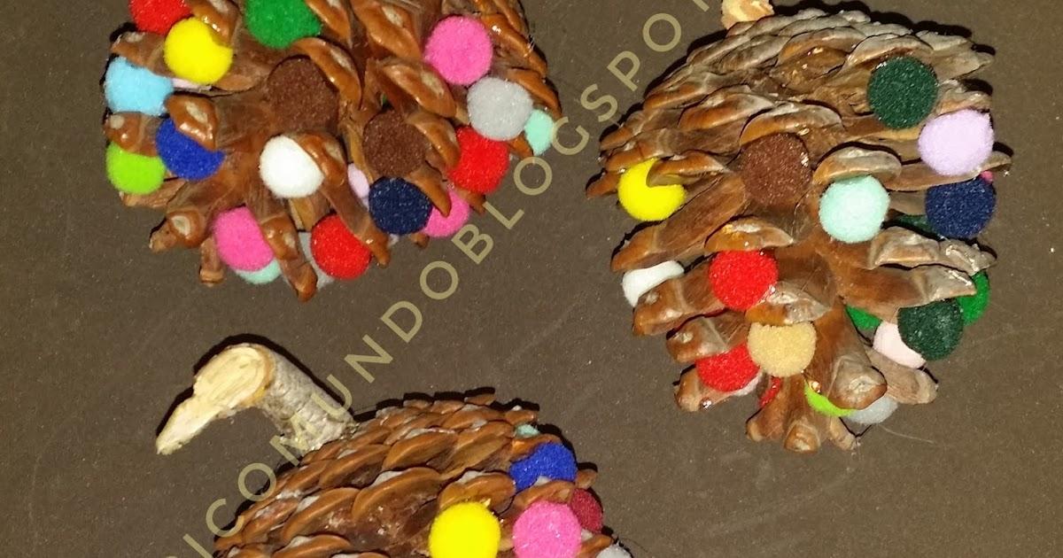 Picomundo pi as decoradas para navidad - Pinas decoradas para navidad ...