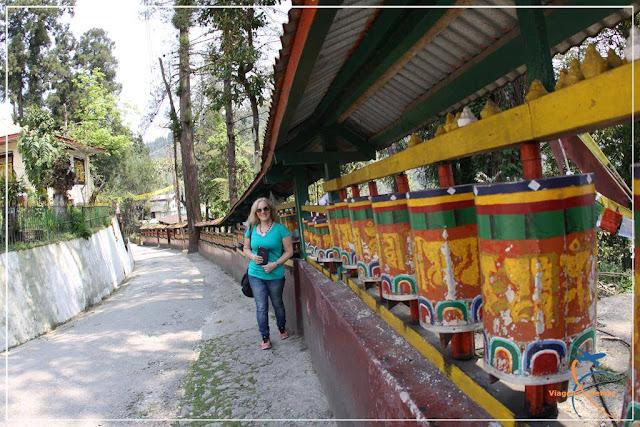 Enchey Monastery - Tempo Budista em Gangtok, Sikkim, Índia