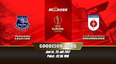Prediksi Skor Kualifikasi Liga Europa, Everton vs Ružomberok 28 Juli 2017