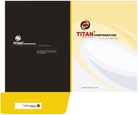 5 lưu ý quan trọng khi lựa chọn in folder, kẹp file giá rẻ Titan Corporation