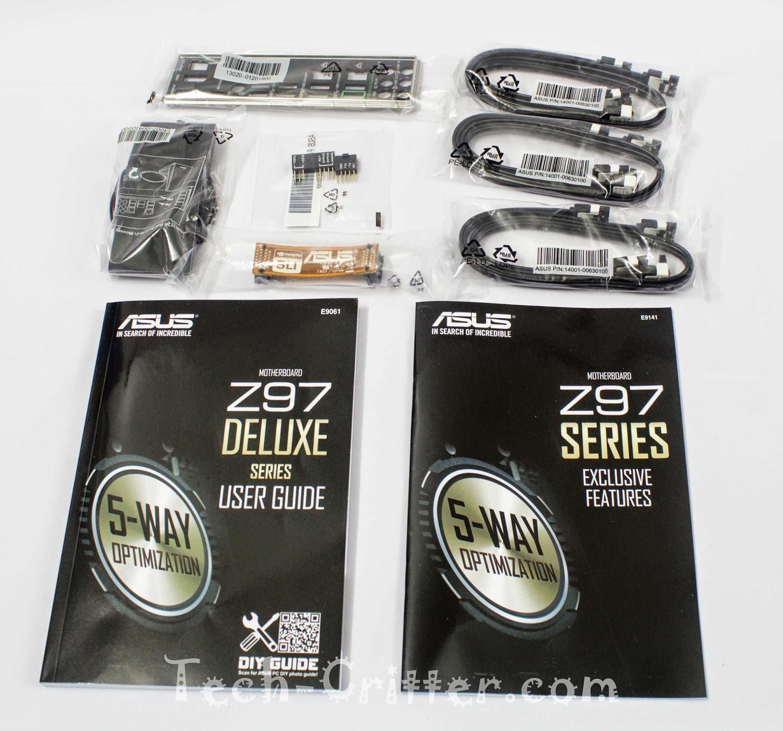 Unboxing & Review - ASUS Z97-Deluxe 160