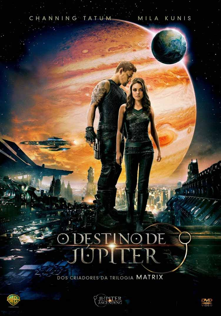 O Destino de Júpiter Torrent - Blu-ray Rip 720p Dual Áudio (2015)