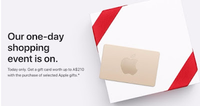 Apple's Black Friday Event Begins With Free Gift Cards Worth Up to $210 in Australia and New Zealand