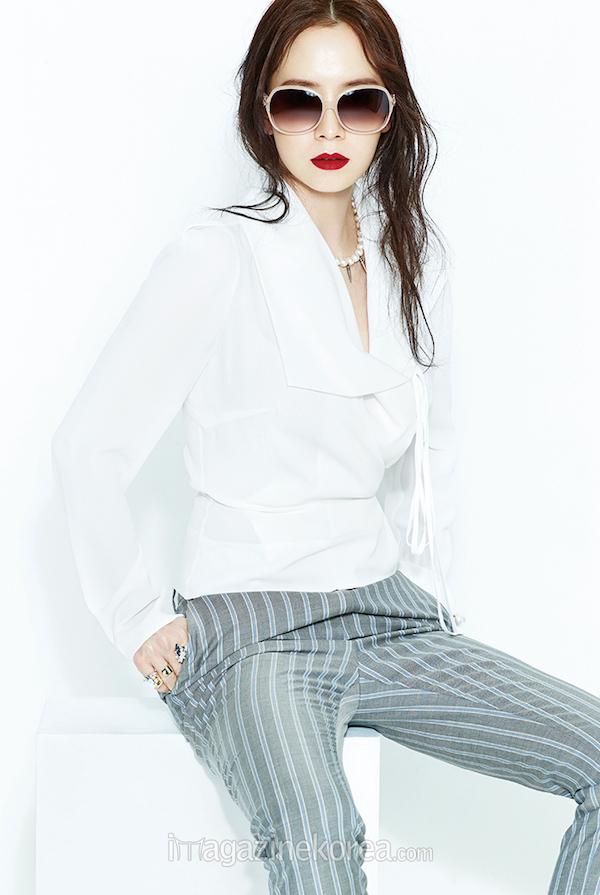 Song Ji Hyo, Song Ji Hyo Harper's Bazaar