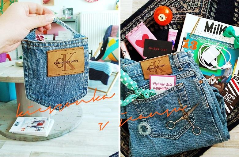 f648649aabe72 Niech Was ręka boska broni przed wyrzucaniem starych jeansów. Fakt, że już  nie wchodzą na tyłek wcale nie musi świadczyć o tym, że należy im się już  tylko ...