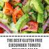 The Best Gluten Free Cucumber Tomato Avocado Salad #glutenfreerecipes #salad