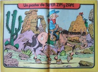 Poster de Benito Boniato publicado en Super Zipi y Zape