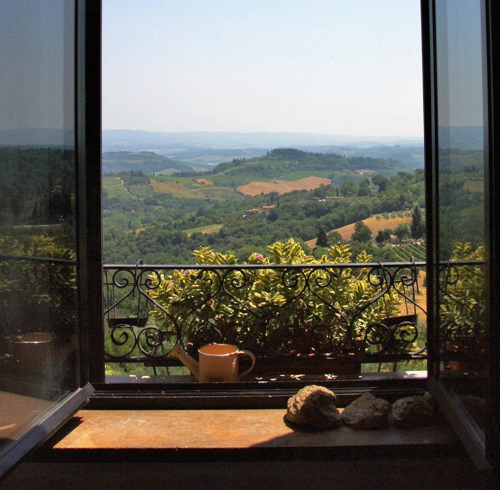 Uitzicht San Gimignano