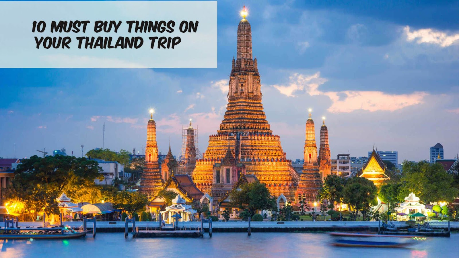 10 Must Buy Things In Thailand - Candy Crow