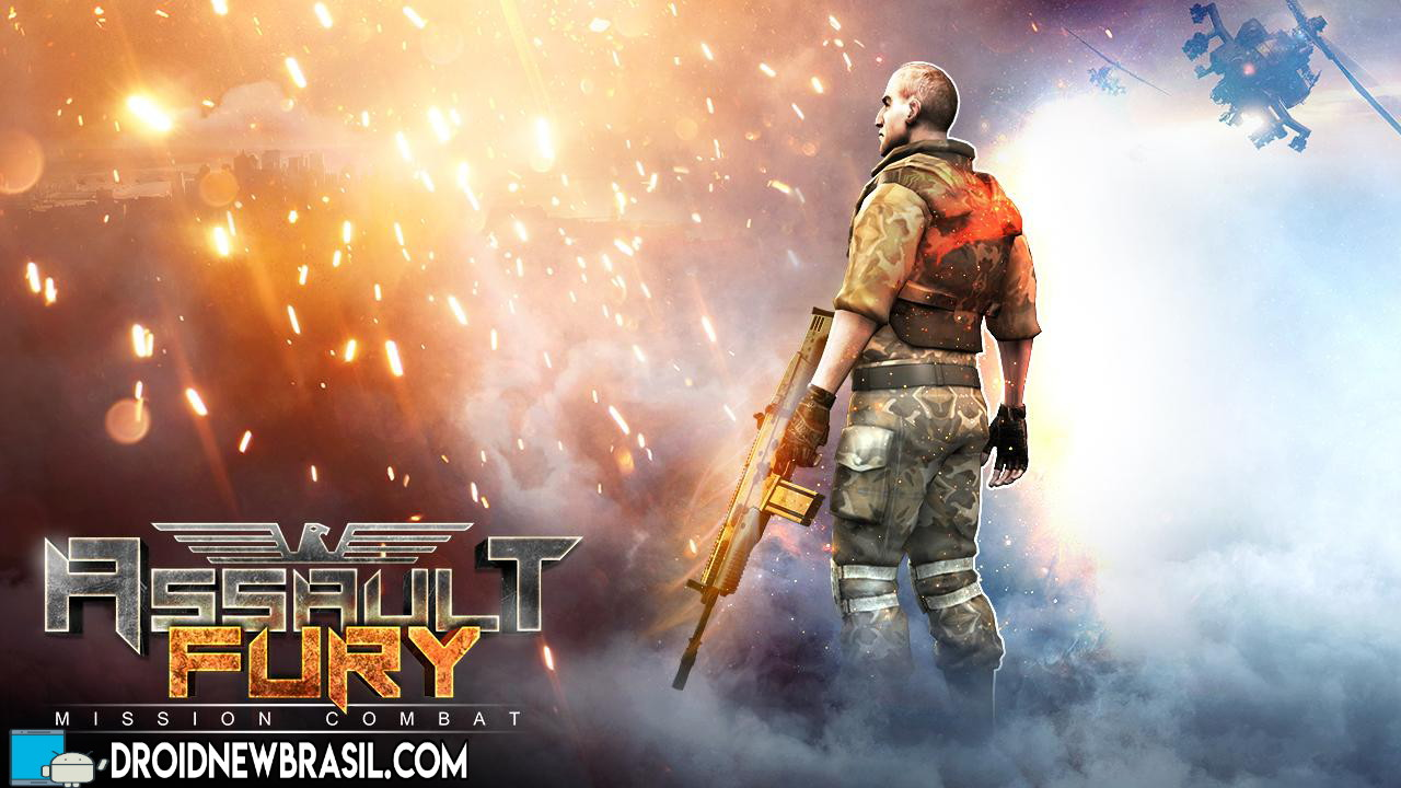 Assault Fury – Mission Combat v1.4 Apk Mod