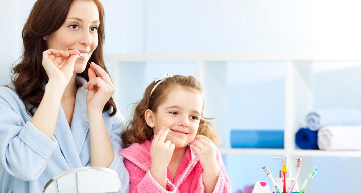 Dental Tips - Brushing & Flossing