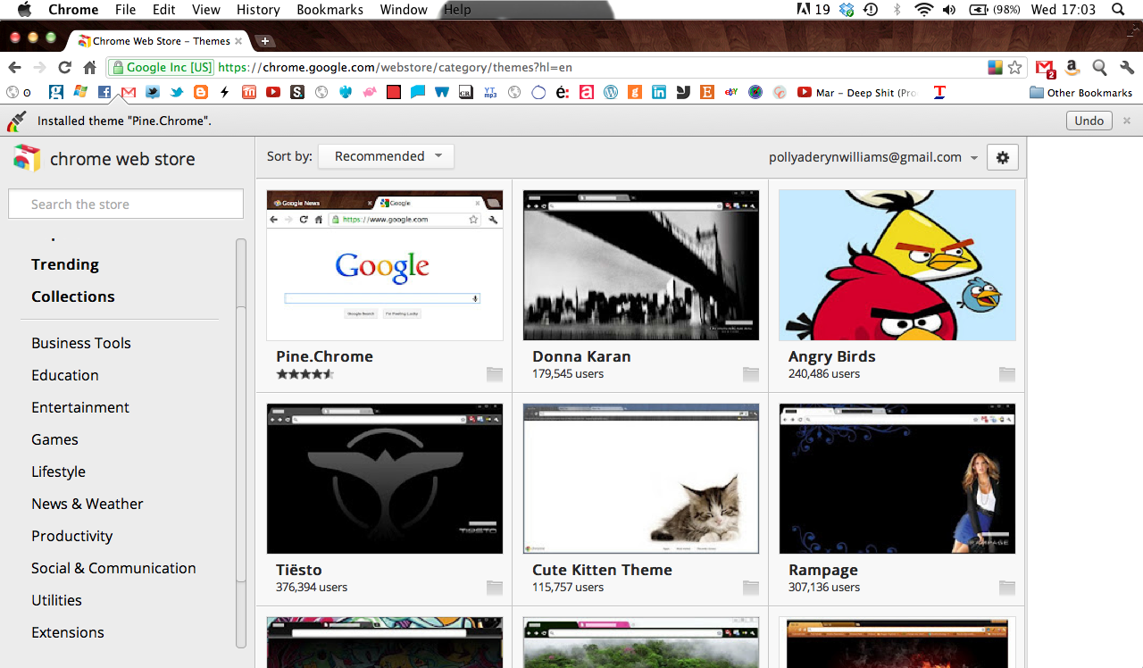 F M P: Chrome web store mock up