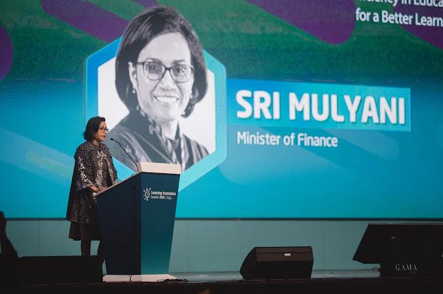 Sri Mulyani Dukung Siswa Memperoleh Alternatif Belajar di Luar Sekolah