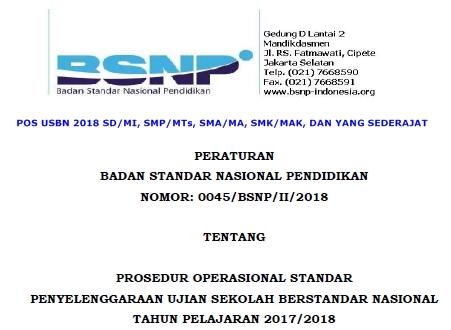 POS USBN 2018 SD-MI-SMP-MTs-SMA-MA-SMK-MAK