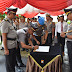Kapolres Tanjungpinang Pimpin Upacara Sertijab Kapolsek Tanjungpinang Barat