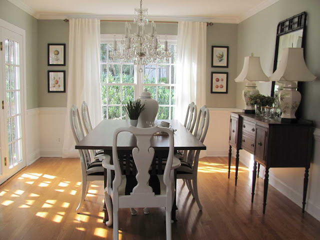Perfect Dining Room for your beloved family Perfect Dining Room for your beloved family dining room curtain color ideas