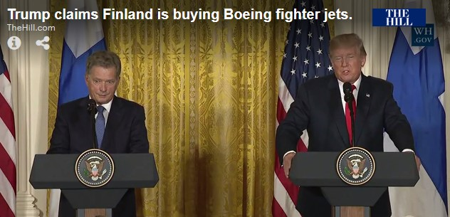 Finnish president and Trump
