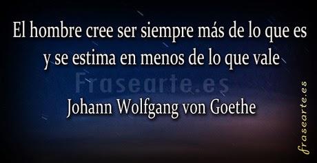 Frases motivadoras -  Goethe