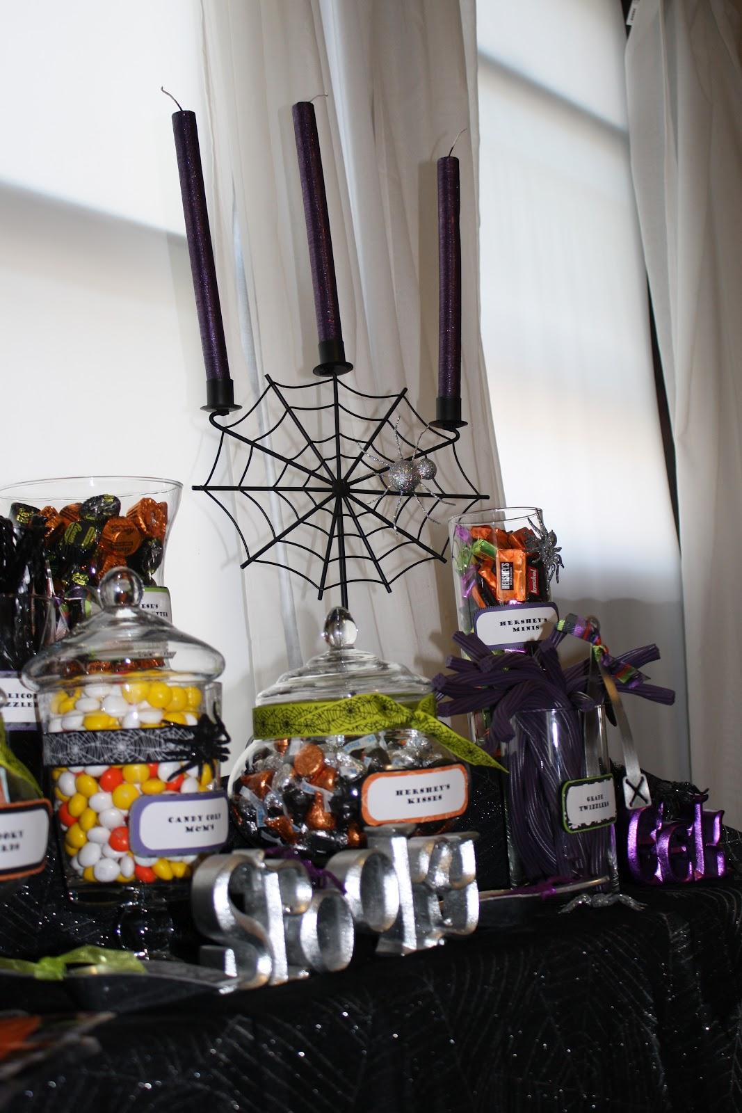 Krinkledkrafts Halloween Candy Buffet