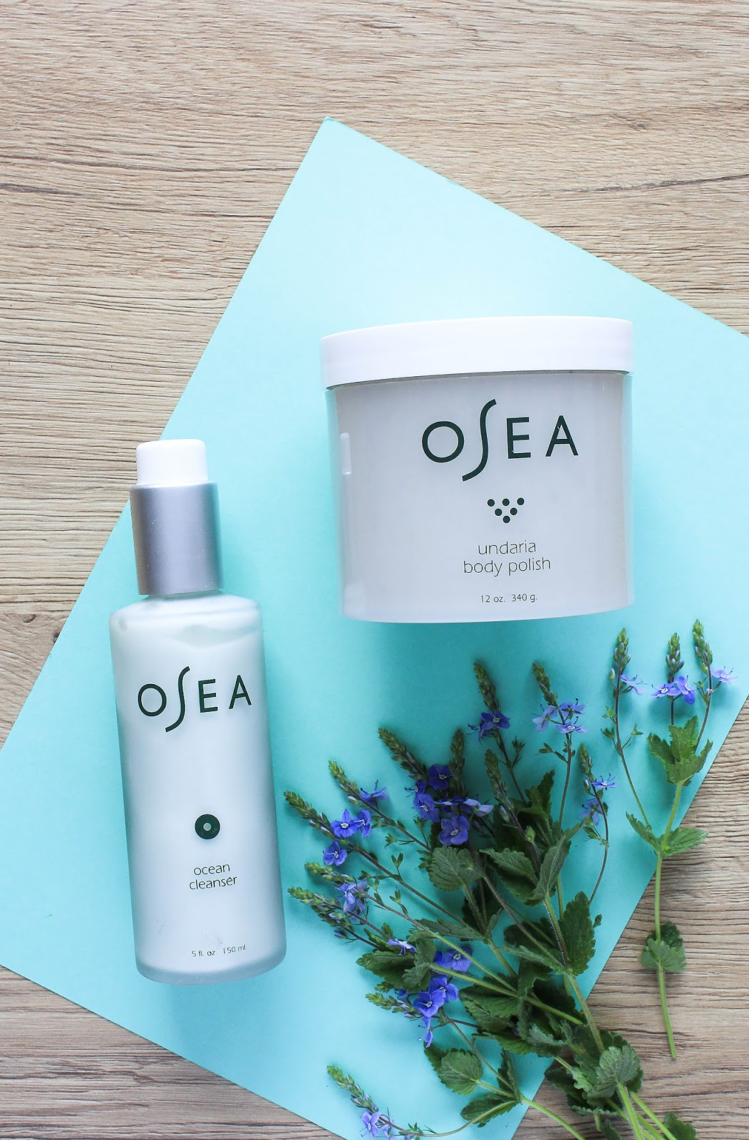 OSEA Ocean Cleanser, Undaria Body Polish. Beauty Heroes Beauty Discovery May 2018.