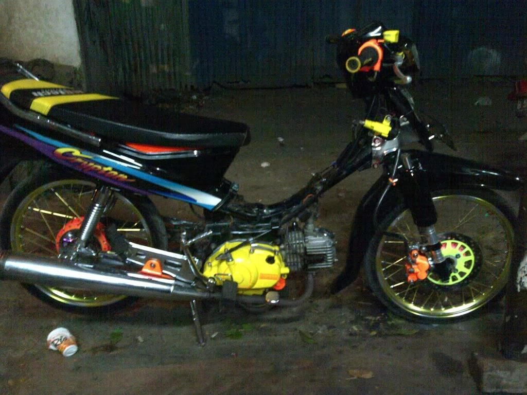 Modifikasi Motor Crypton Kontes