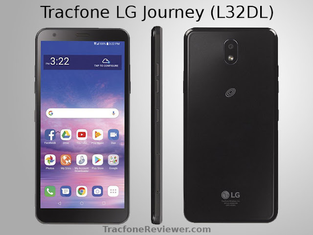 tracfone lg journey l322dl