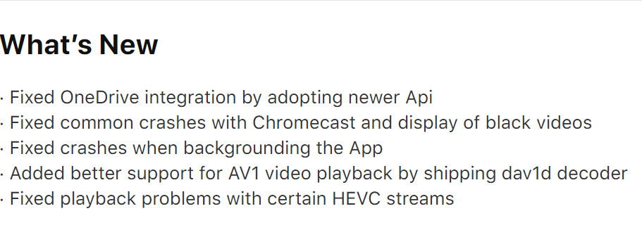 VLC for Mobile iOS App Adds AV1 Support - Madd Apple News