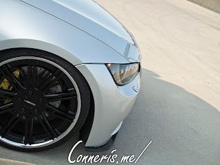 BMW 335i E92 wheel detail