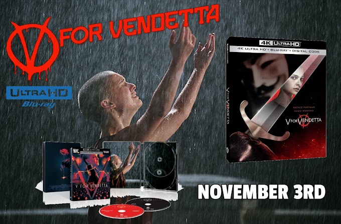 V For Vendetta arrives on 4K UHD SteelBook November 3 (Warner Bros.)