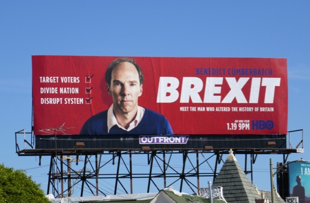 Brexit HBO film billboard