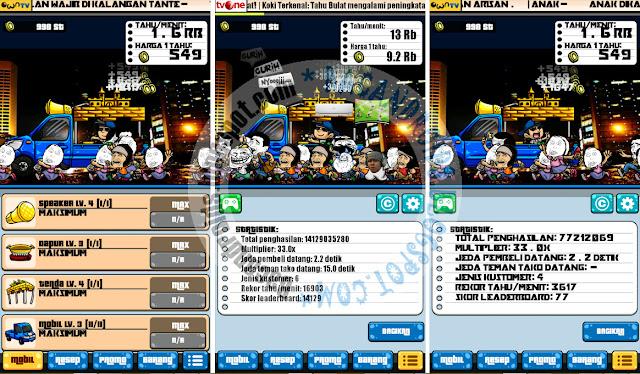 download Tahu Bulat Apk Mod Karakter Meme Unlimited Money Terbaru