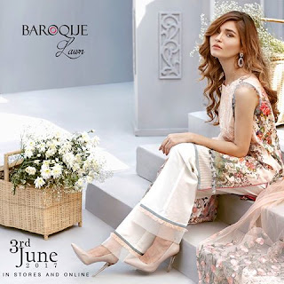 Baroque-eid-lawn-collection-2017-embroidered-designs-1
