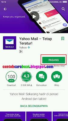 Daftar Yahoo Mail Indonesia Lewat Hp | Pendaftaran Yahoo Gratis