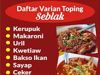 Download Contoh Spanduk Daftar Menu.cdr