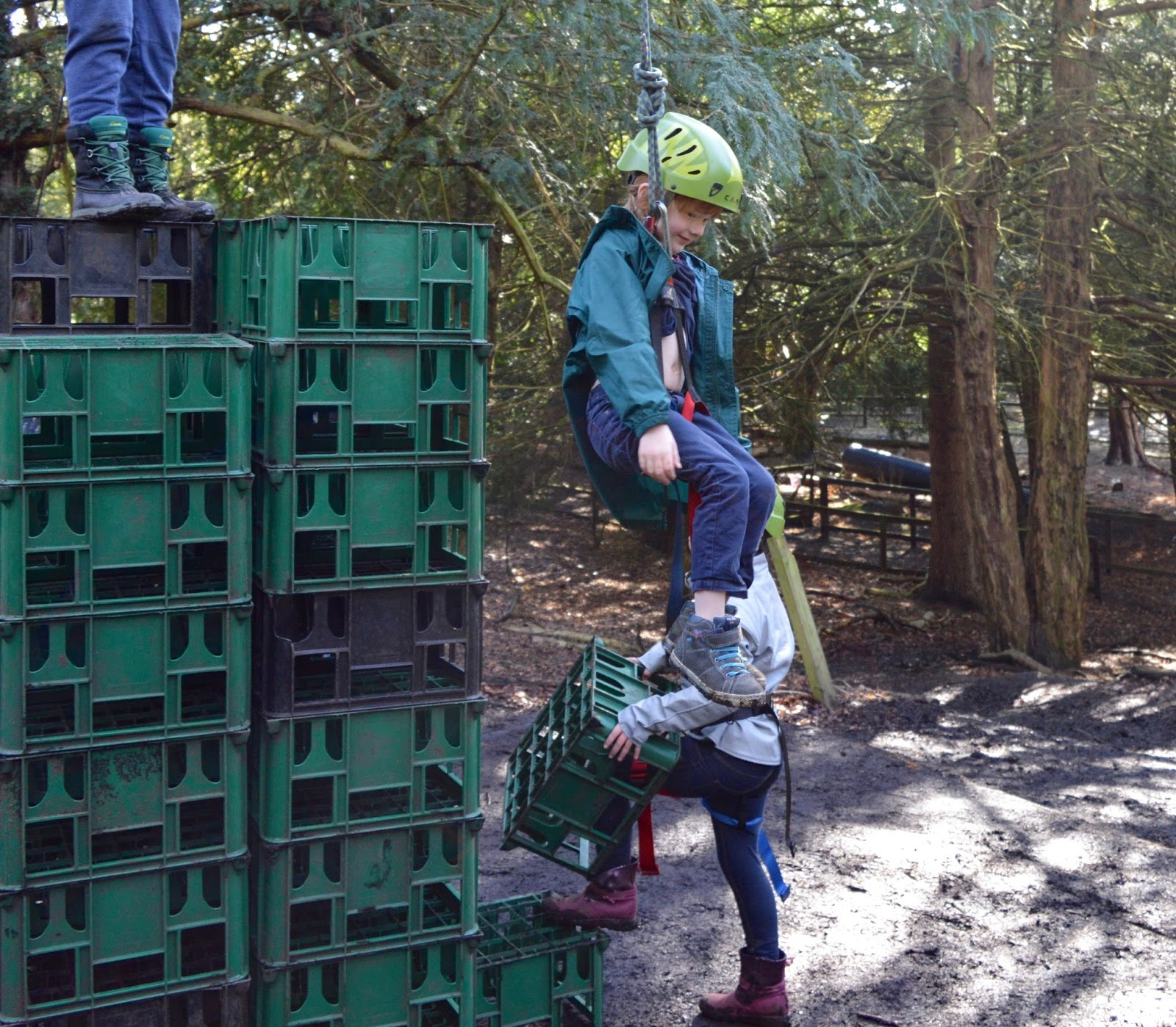 Beamish Wild | School Holiday Club & Activities in County Durham | North East England - crate stack