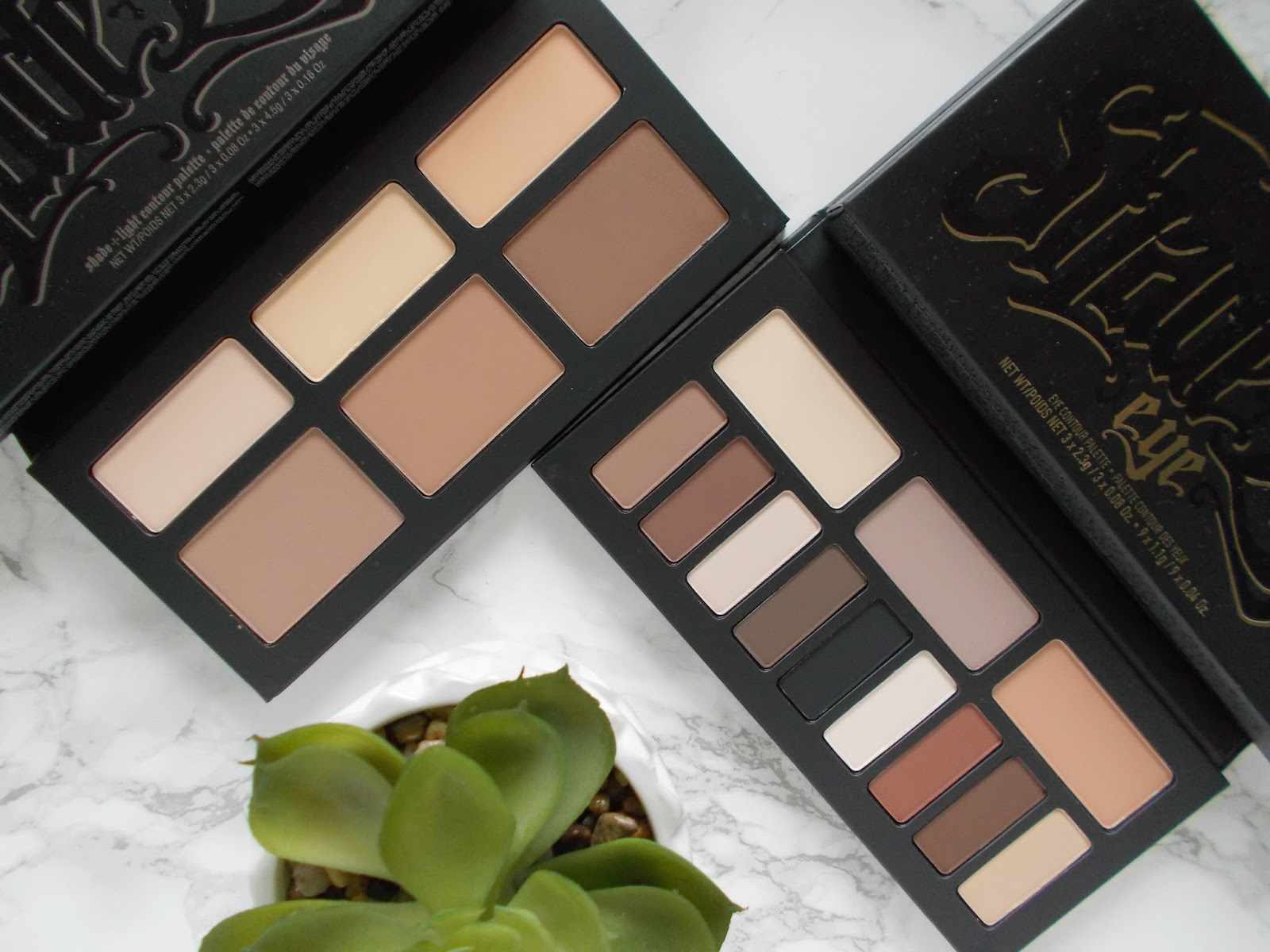 Kat Von D Shade and Light eye and contour palette review