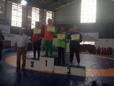 SMKN 1 Purwodadi Juara 3 Gulat Tingkat Nasional