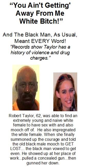 Violent Crimes: Black On White & White On Black: Black Males